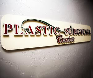PLASTIC SURGICAL CENTER OF RAPID CITY L.L.C. Sign